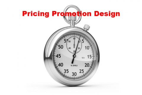 Pricing Promotion Design